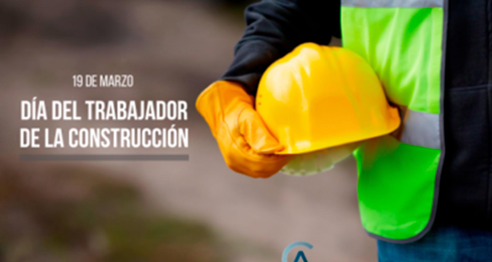 Feliz día del trabajador de la construcción les desea el Comité de Asfaltos