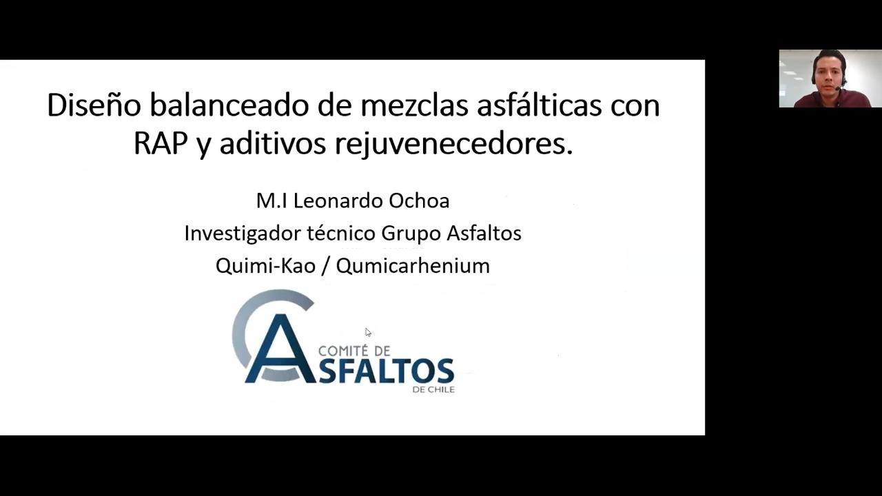 El Comité de Asfaltos realizó exitosa Charla Técnica sobre diseño de pavimentos asfalticos recuperados (RAP)