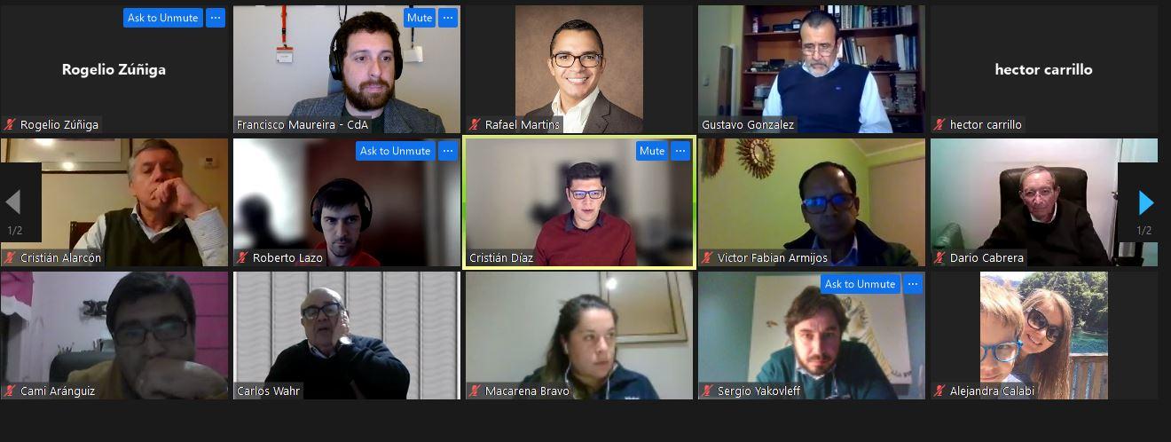 Asamblea de Socios Comité de Asfaltos de Chile 2021